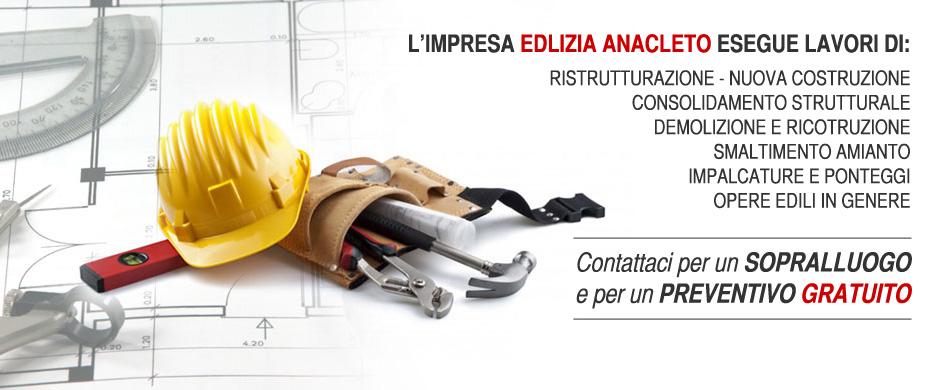 Servizi edili e ristrutturazioni